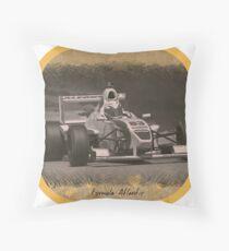 Formula Atlantic Race Car Throw Pillow