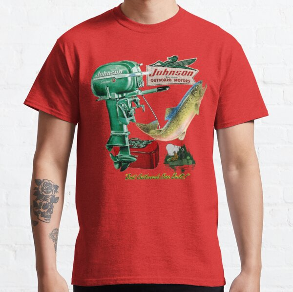 Johnson Outboard Motors USA Classic T-Shirt