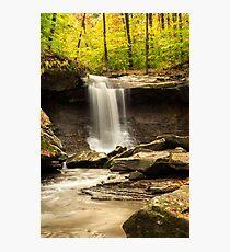 Blue Hen Falls, CVNP, Ohio Photographic Print