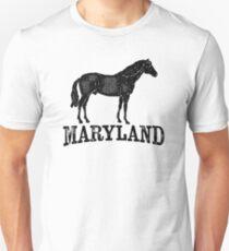 Maryland T-shirt - Horse Unisex T-Shirt