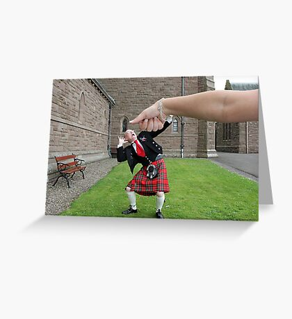 Under the Thumb Greeting Card