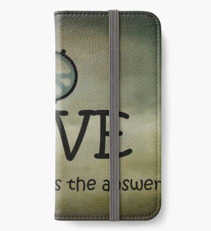 John Lennon ..... schon vor 35 Jahren ... eine Hommage! iPhone Flip-Case