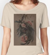 ITASHI'S CROW Women's Relaxed Fit T-Shirt