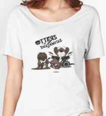 OTTERS OF DEATHMETAL v.2 Women's Relaxed Fit T-Shirt