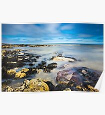 Seaham Seascape Poster
