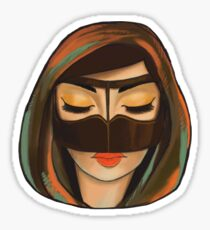 Burqa Beauty Full Sticker