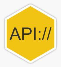API Sticker