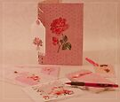 Pink Stationary  by Sandra Foster