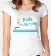 Christmas Vacation - Mele Kalikimaka Women's Fitted Scoop T-Shirt