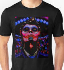 Day of the Dead; Black Light Dead Guy Unisex T-Shirt