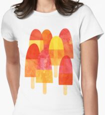 Ice Lollies Womens Fitted T-Shirt