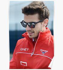 Jules Bianchi 2013 Poster