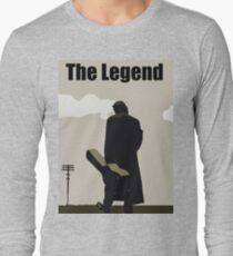 Johnny Cash the Legend Long Sleeve T-Shirt