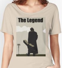 Johnny Cash the Legend Women's Relaxed Fit T-Shirt