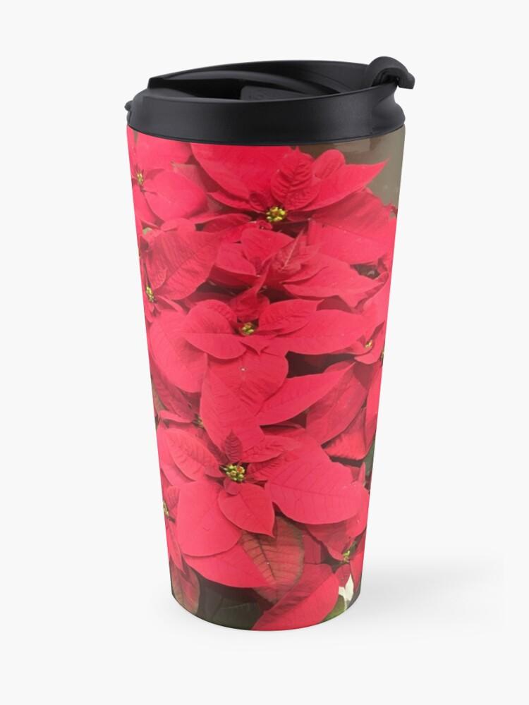 Alternate view of Christmas Red Travel Mug