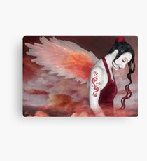 Earthbound Angel - Self Portrait Canvas Print