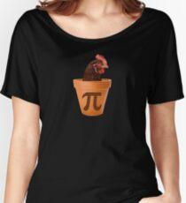 Chicken Pot Pi  Women's Relaxed Fit T-Shirt