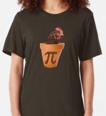 Chicken Pot Pi  Slim Fit T-Shirt