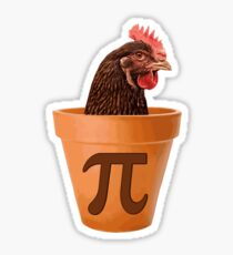 Chicken Pot Pi  Sticker