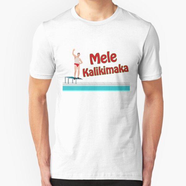 Christmas Vacation - Mele Kalikimaka Slim Fit T-Shirt
