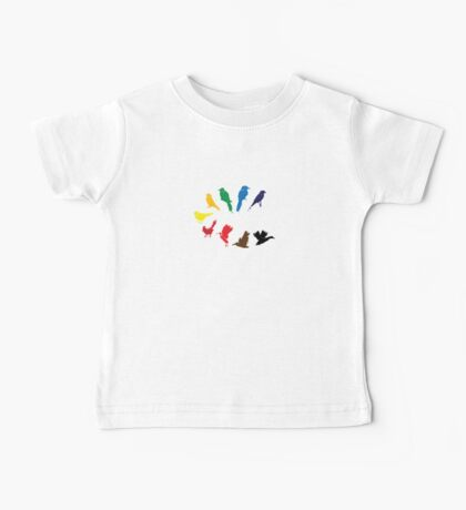 Bird Palette Kids Clothes