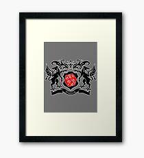 Coat of Arms - Warlock Framed Print