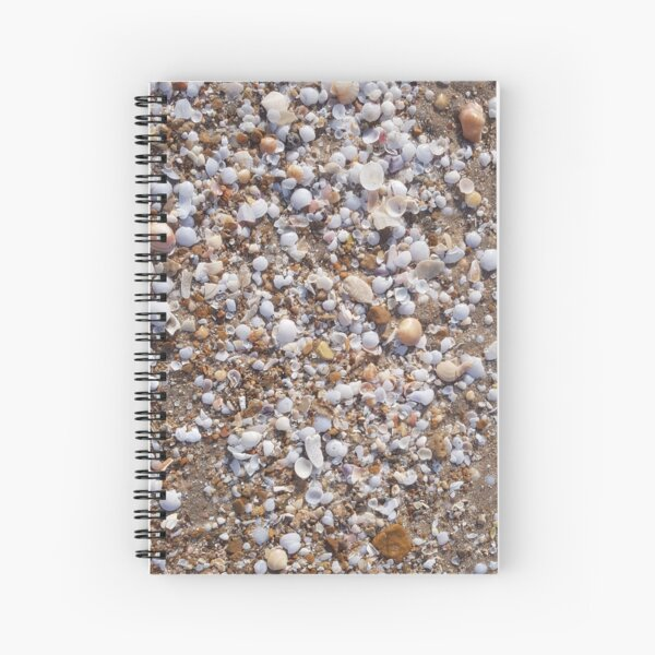 Sand Shells and Serenity Spiral Notebook
