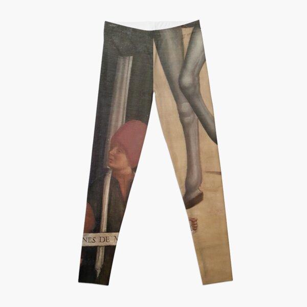 Venetian Painting Makes Me Smile Leggings