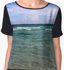 Ocean View Chiffon Top