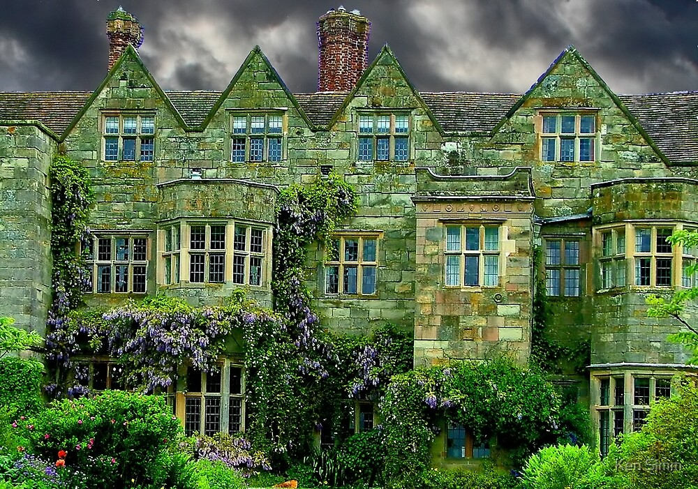 Manor House Staffordshire by Ken Simm