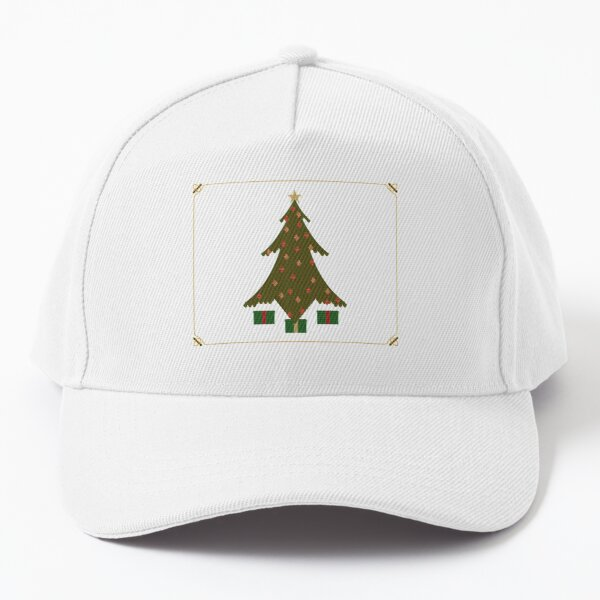 Quilted Christmas Baseball Cap