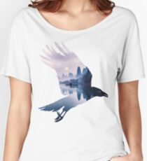 Crow Mystic River  Women's Relaxed Fit T-Shirt