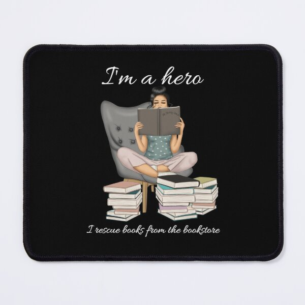 I'm A Hero Mouse Pad