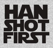 Han Shot First | Unisex T-Shirt