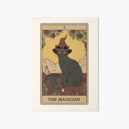 The Magician Art Board Print