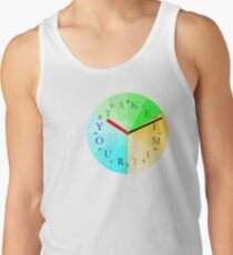 Take Your Time Men's Tank Top