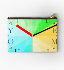 Take Your Time Studio Pouch