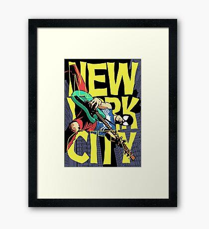Nega New York City Framed Print