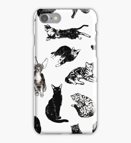 Kitty Kitty, bang-bang! iPhone Case/Skin