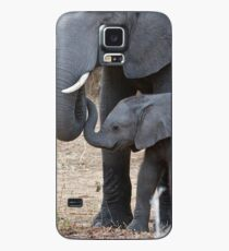 Love & Trust - Mother & Baby African Elephants Case/Skin for Samsung Galaxy