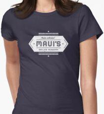 Mauis Segelakademie Tailliertes T-Shirt für Frauen