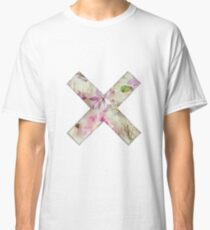 Floral Straightedge  Classic T-Shirt