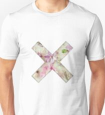 Floral Straightedge  Unisex T-Shirt