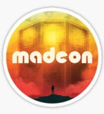Madeon Technicolor Design Sticker