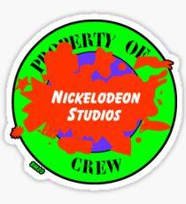 Nickelodeon Studios Crew Sticker Sticker
