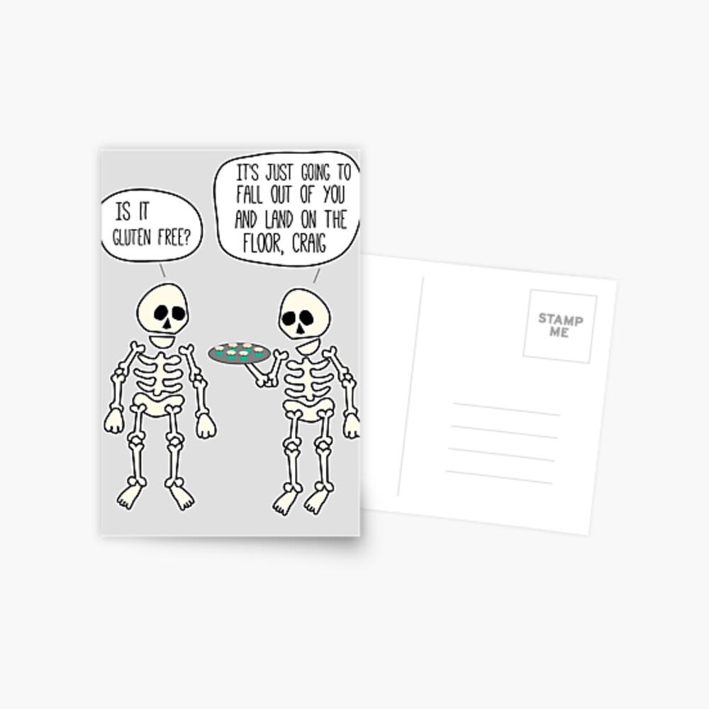 Is it gluten free? Postcard