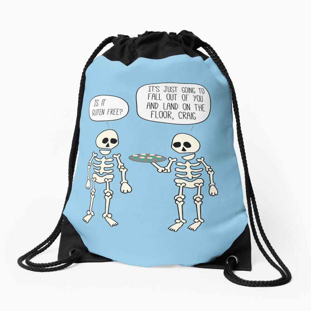 Is it gluten free? Drawstring Bag