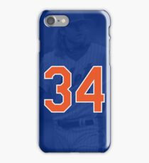 Noah Syndergaard - #34 New York Mets Phone Case iPhone Case/Skin