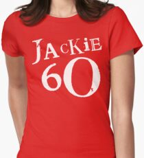 Red Holiday Editions Jackie 60 Logo  Women's Fitted T-Shirt