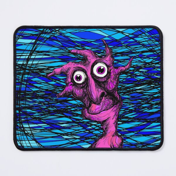See Monkee Mouse Pad